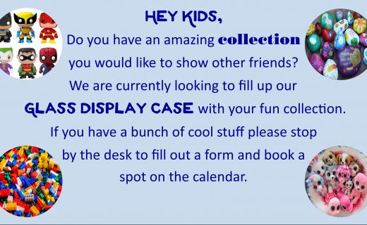 Words about Display Case