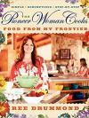 cookbook cover - Ree Drummond in her kitchen holding a mixing bowl.