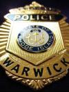 A Warwick Police Badge