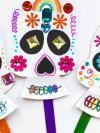 decorated skull craft