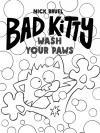Cover of book, Bad Kitty Wash Your Paws